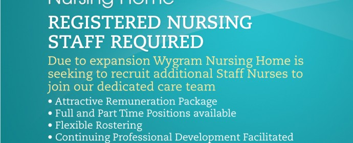 Staff Nurse Vacancies at Wygram Nursing Home