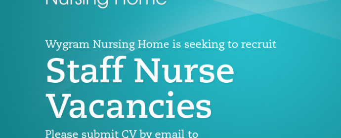 Registered Nursing Staff Required