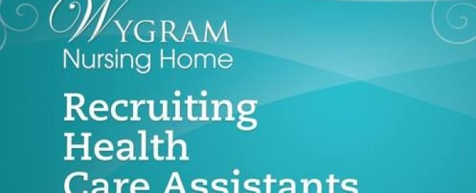 We are recruiting at Wygram Nursing Home